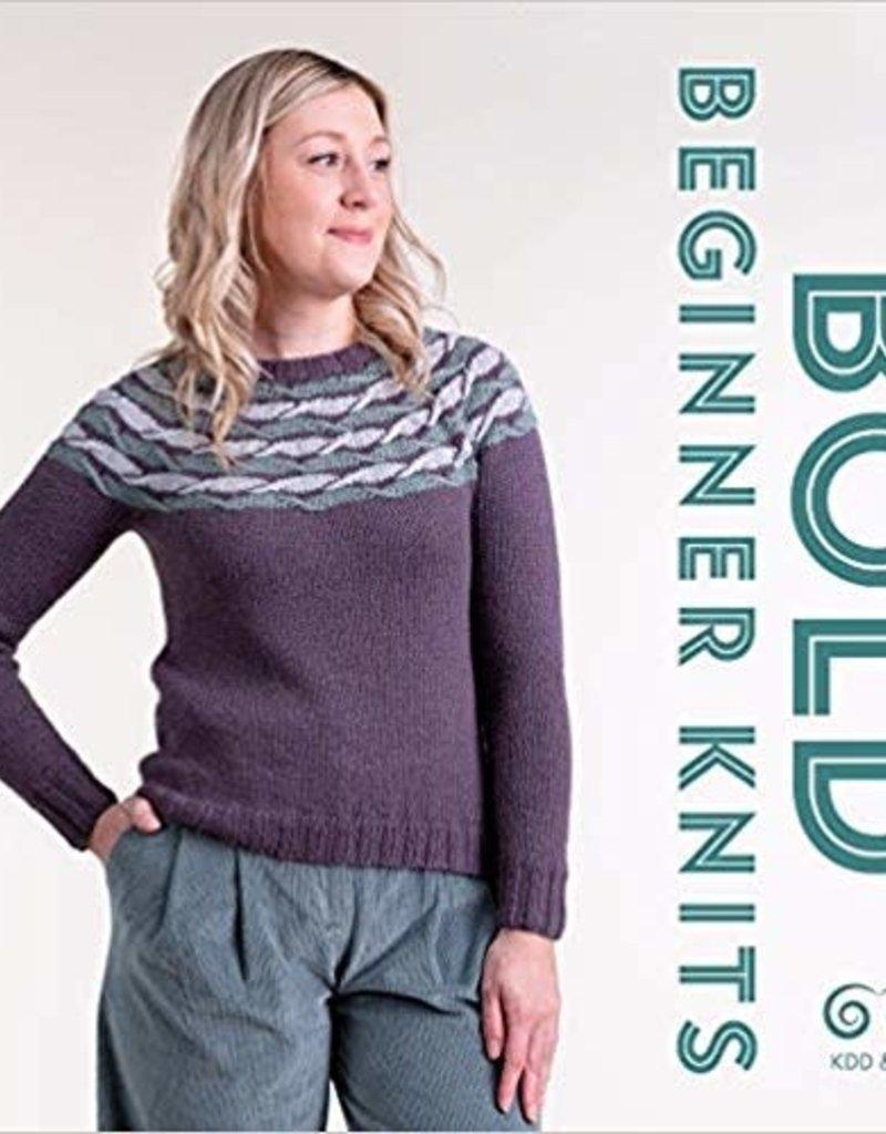 Kate Davies Designs Bold Beginner Knits