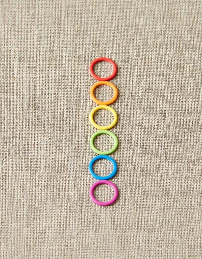 Coco Knits Coco Knits Colored Ring Stitch Markers-Large