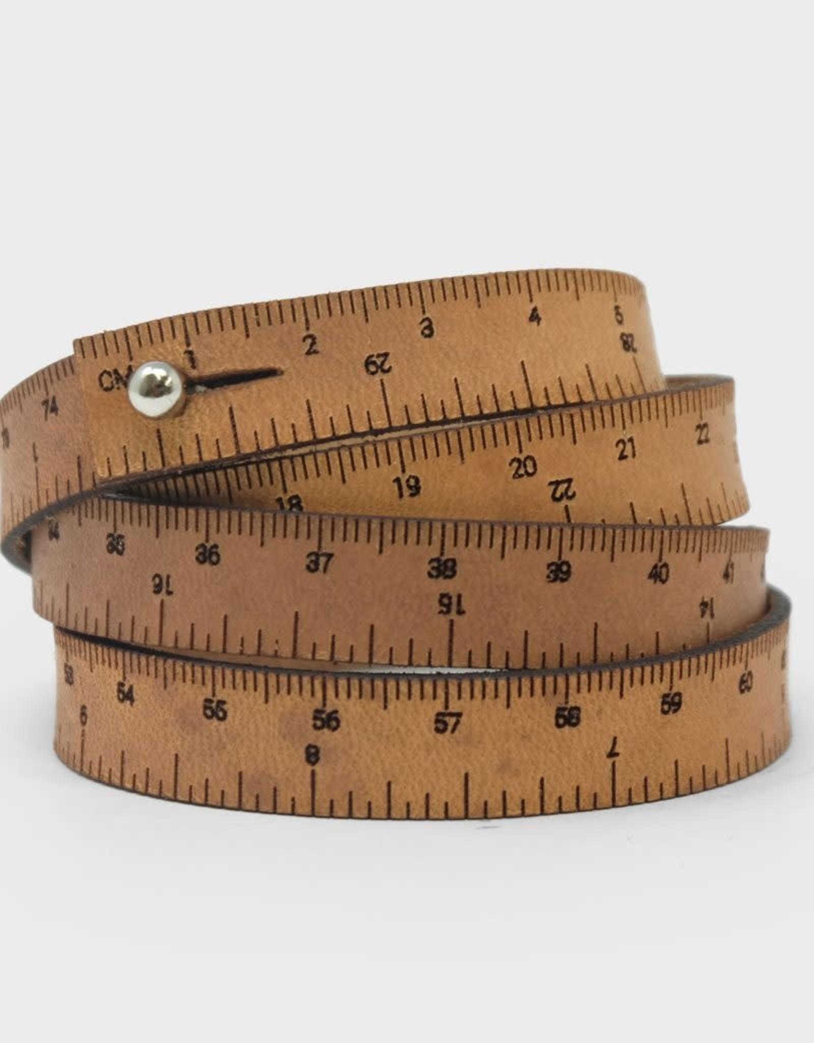 """30"""" Wrist Ruler Natural"""