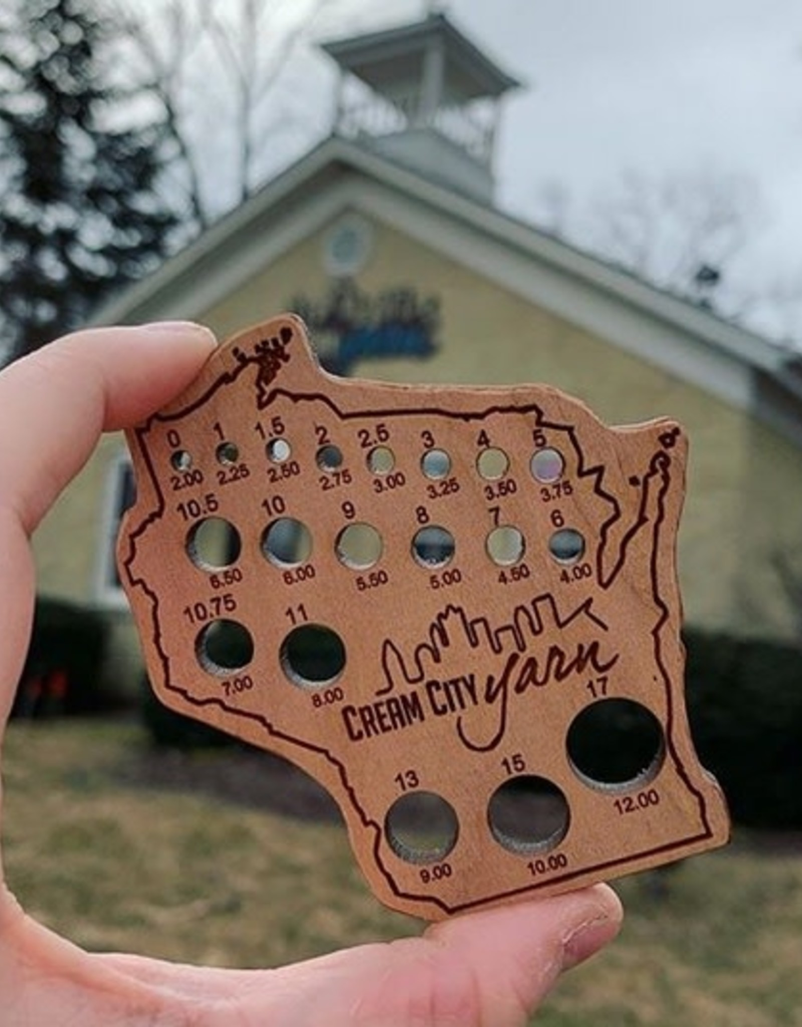 Katrinkles Katrinkles Wisconsin Custom Needle Gauge