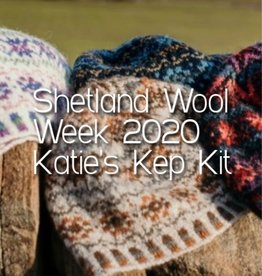 Jamieson & Smith Shetland Wool Week 2020- Katie's Kep- Kit: Dark