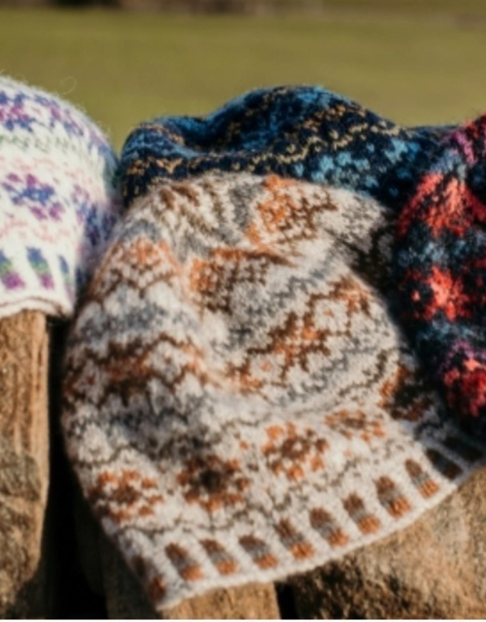Jamieson & Smith Shetland Wool Week 2020- Katie's Kep- Kit: Dark