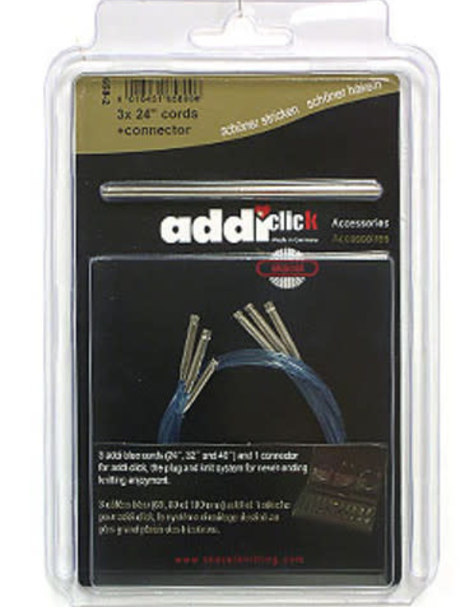 Addi Addi Click Cord set 24 in. w/ connector