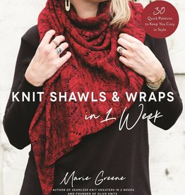 MacMIllan Publishers Knit Shawls & Wraps in 1 week by Marie Greene