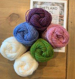 Jamieson & Smith Shetland Wool Week 2020- Katie's Kep- Spring