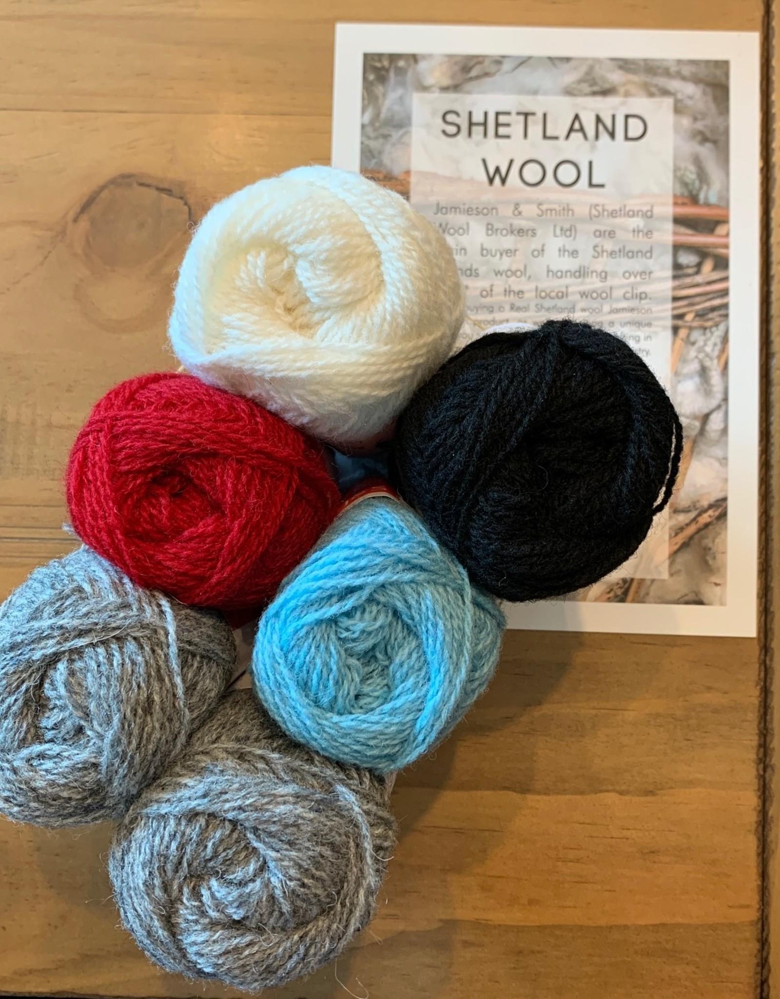 Jamieson & Smith Shetland Wool Week 2020- Katie's Kep-  Winter