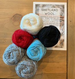 Jamieson & Smith Shetland Wool Week 2020- Katie's Kep-  Winter