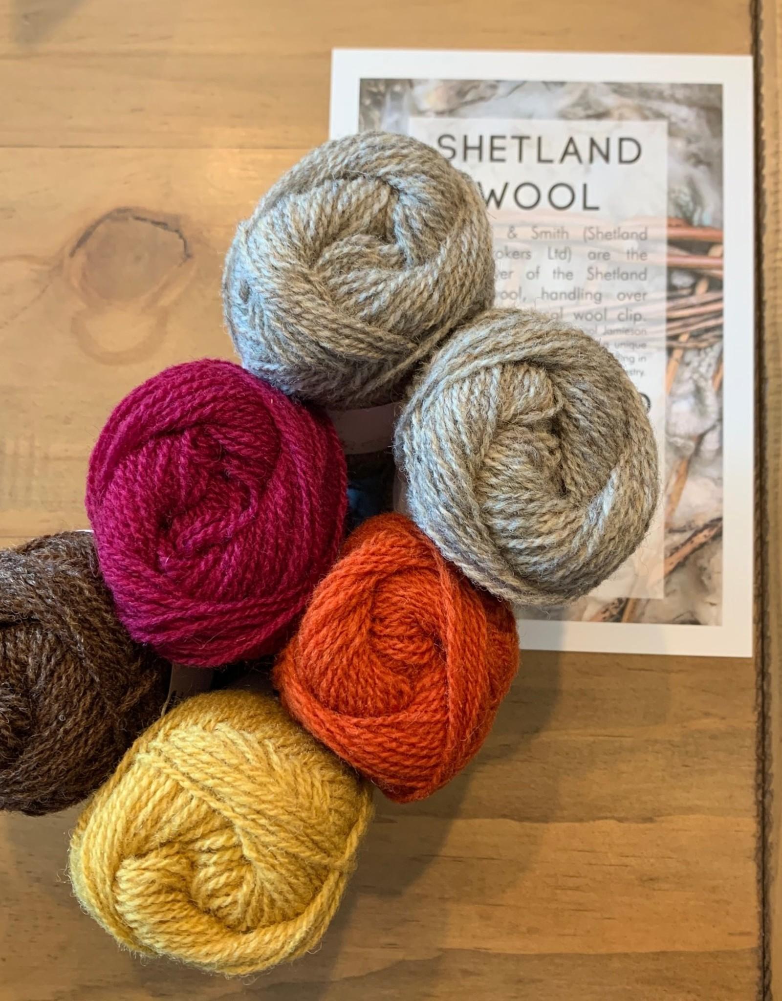Jamieson & Smith Shetland Wool Week 2020- Katie's Kep-  Autumn