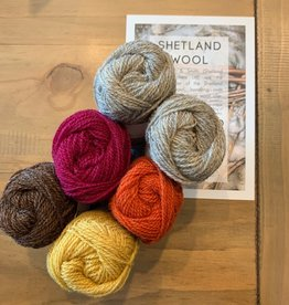 Jamieson & Smith Shetland Wool Week 2020- Katie's Kep-  Autumn