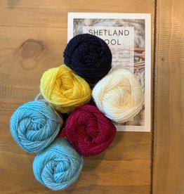 Jamieson & Smith Shetland Wool Week 2020- Katie's Kep- Summer