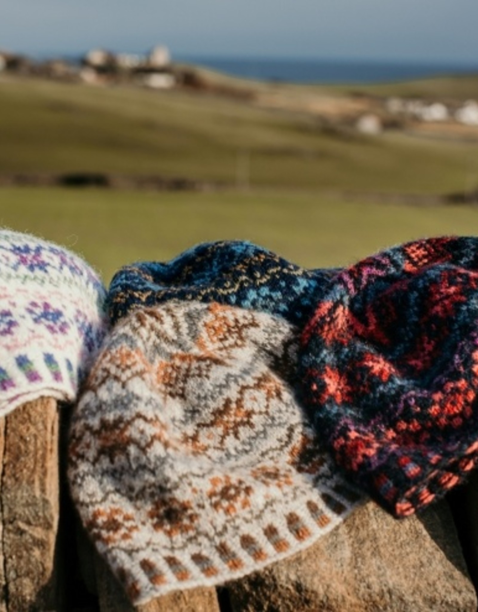Jamieson & Smith Shetland Wool Week 2020- Katie's Kep- Summer
