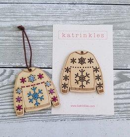 Katrinkles Katrinkles Sweater Ornament DIY