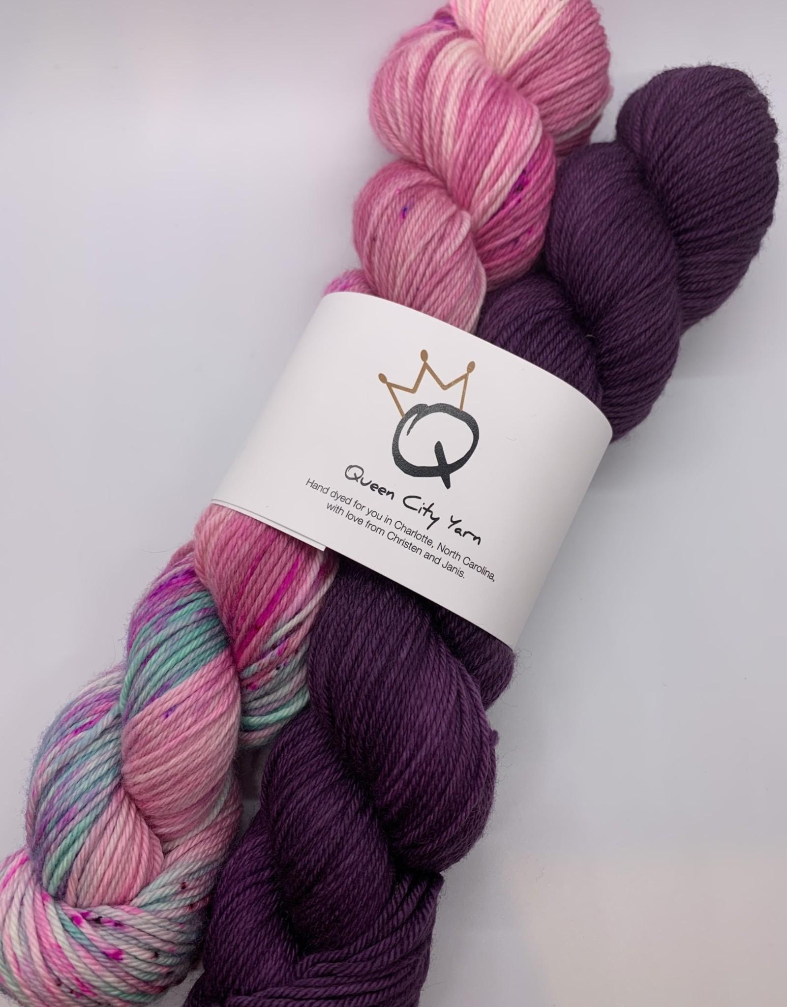 Queen City Yarn 2 Color Biddleville DK Kit