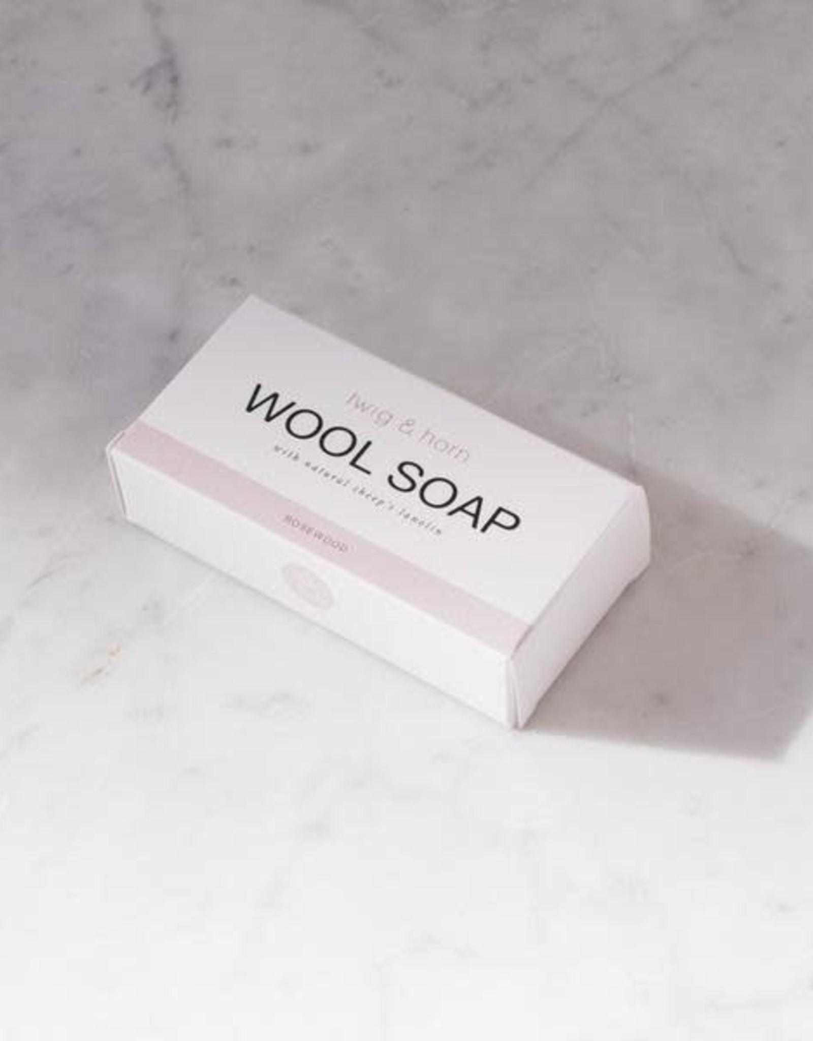 Twig & Horn Twig & Horn Wool Soap Bar