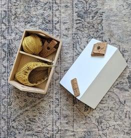 Thread and Maple Birdhouse Box