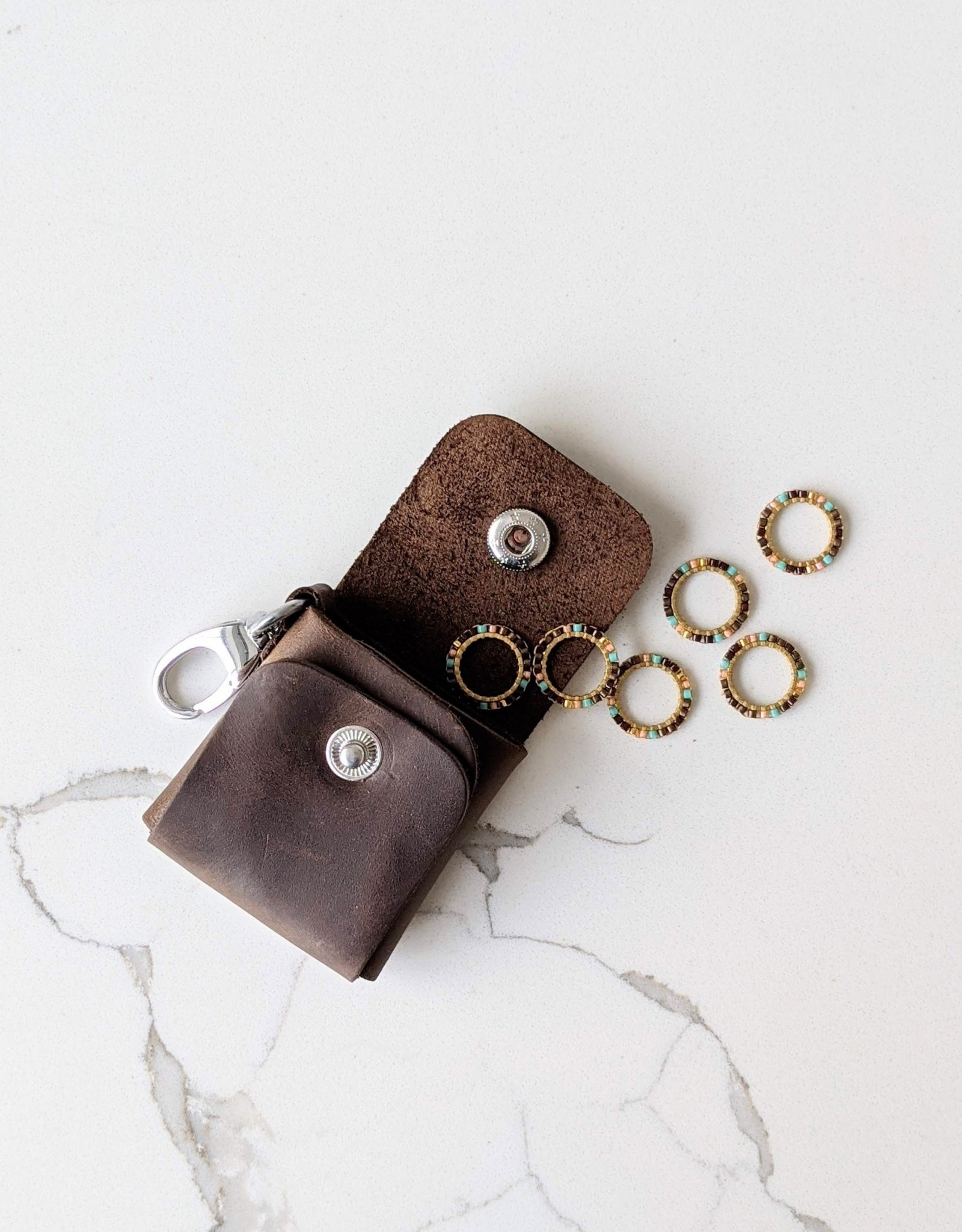 Thread and Maple Stitch Markers Case