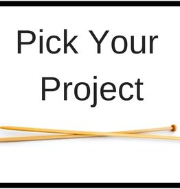 Class-Pick Your Project w/ Patti