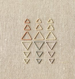 Coco Knits Coco Knits Triangle Stitch Markers - Earth Tones