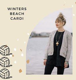 Winters Beach Cardigan Class with Erin