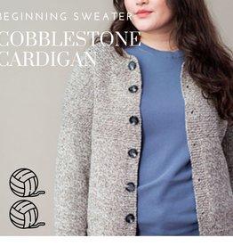 Beginning Sweater-Cobblestone with Lisa