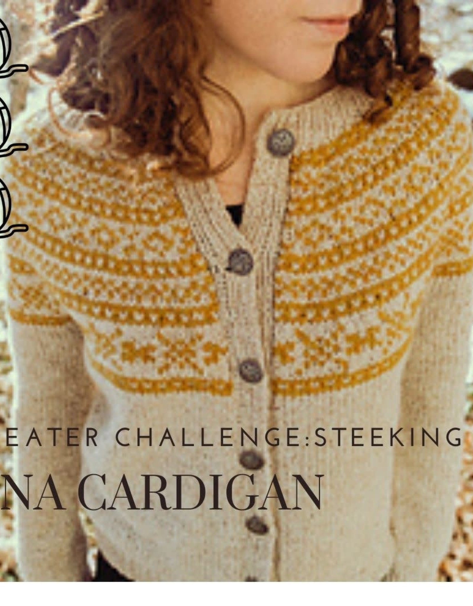 Sweater Challenge - Lina Cardigan with Cait SESSION 2