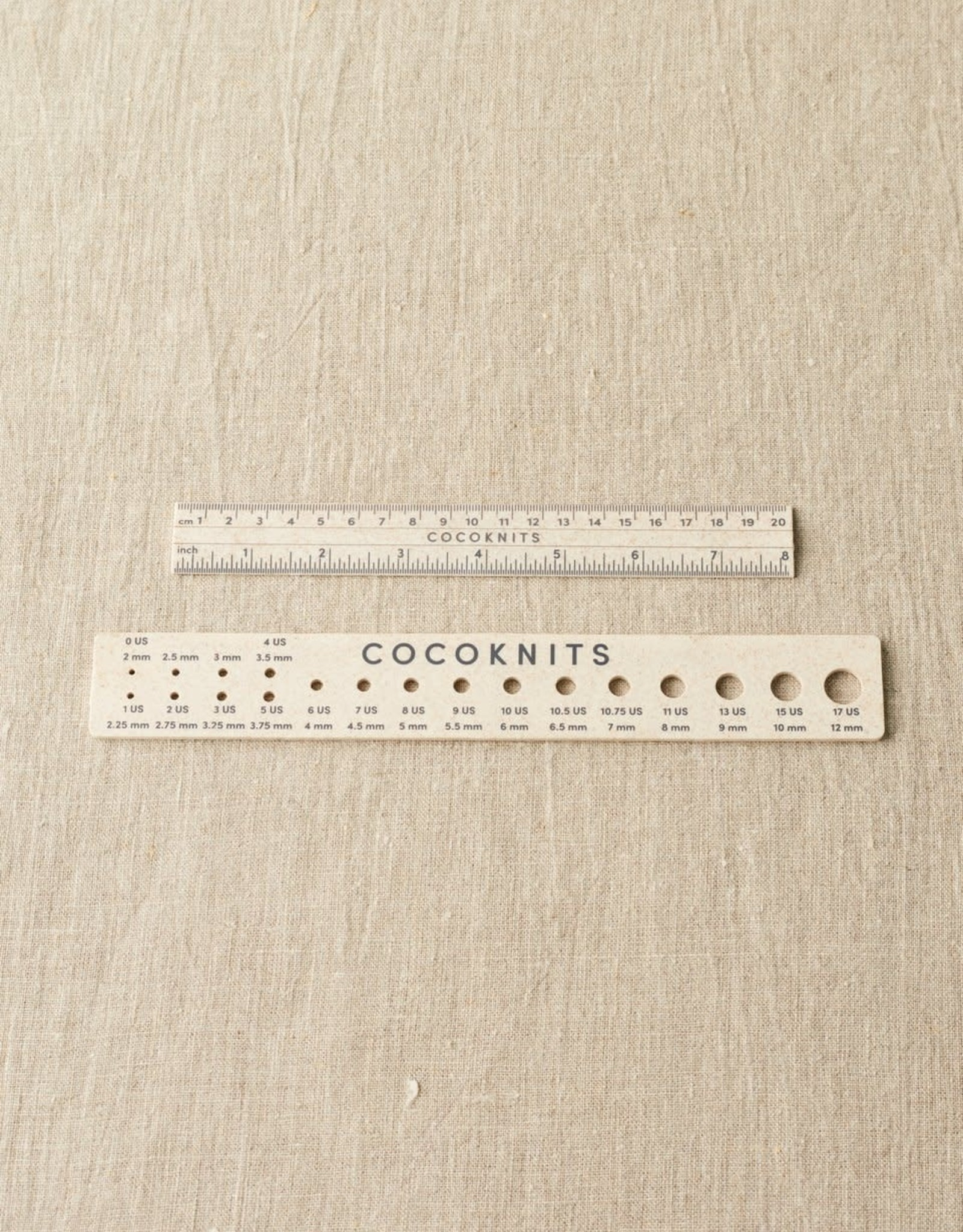 Coco Knits Ruler and Gauge Set