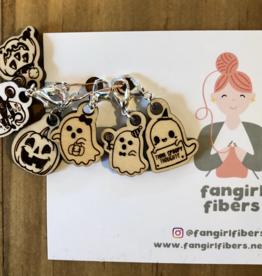 Fangirl Fibers Fangirl Fibers Stitch Marker Sets - Monthly