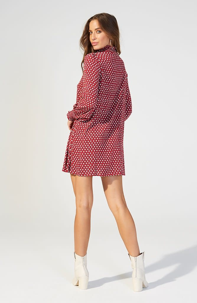 House Of Quirky Geo smock dress