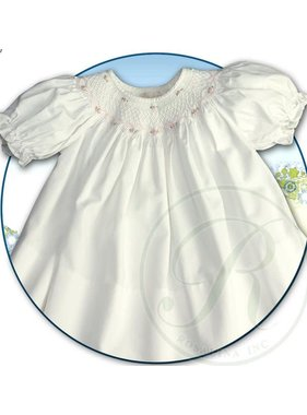Rosalina Roselle smocked bishop dress