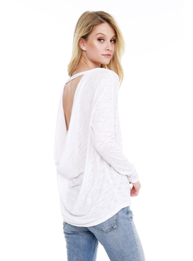 Bobi Cowl back top by Bobi