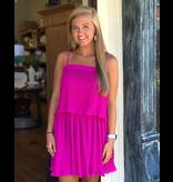 TCEC Pleated Dress
