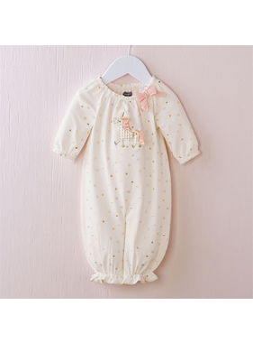 Mud Pie Unicorn gown 0-3 mo