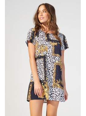 House Of Quirky Material Girl TShirt Dress