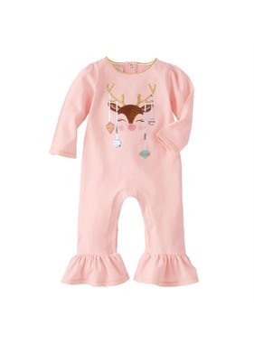 Mud Pie Reindeer and ornament one piece 3-6 months