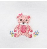 Mud Pie Pink Bear Bib