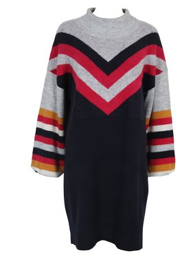 House Of Quirky Stripe me up sweater dress by Mink Pink