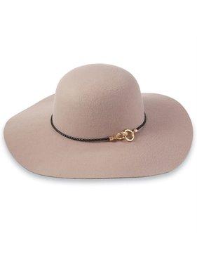 Mud Pie Vale Linked Hat - Dusty Rose