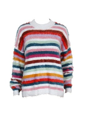 House Of Quirky Debby Stripe sweater by Mink Pink