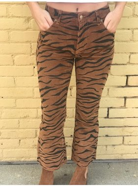 House Of Quirky Wild woman kick flare pant by Mink Pink