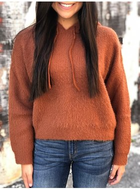House Of Quirky Fluffy knit jumper by Mink Pink