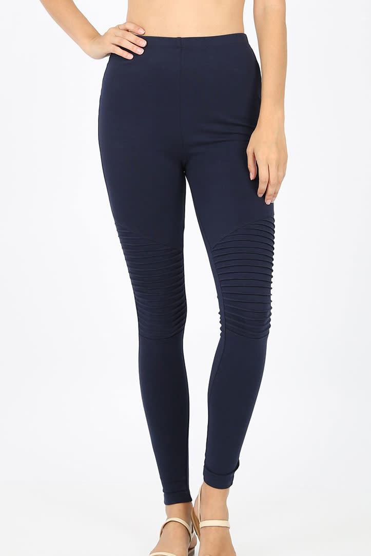 Zenana Moto leggings - Zenana