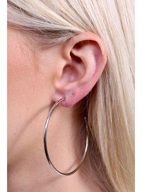 Caroline Hill Deaver simple hoop earring