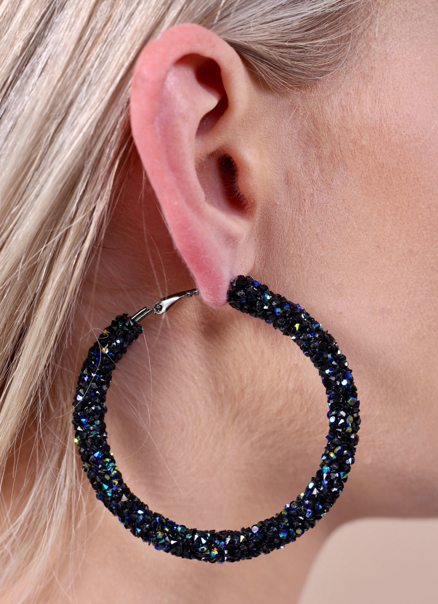 Caroline Hill Turner crystal hoop