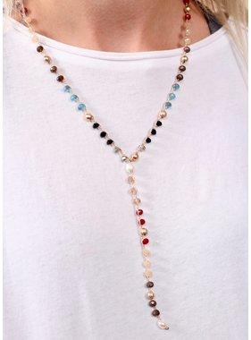 Caroline Hill Mikas glass bead necklace