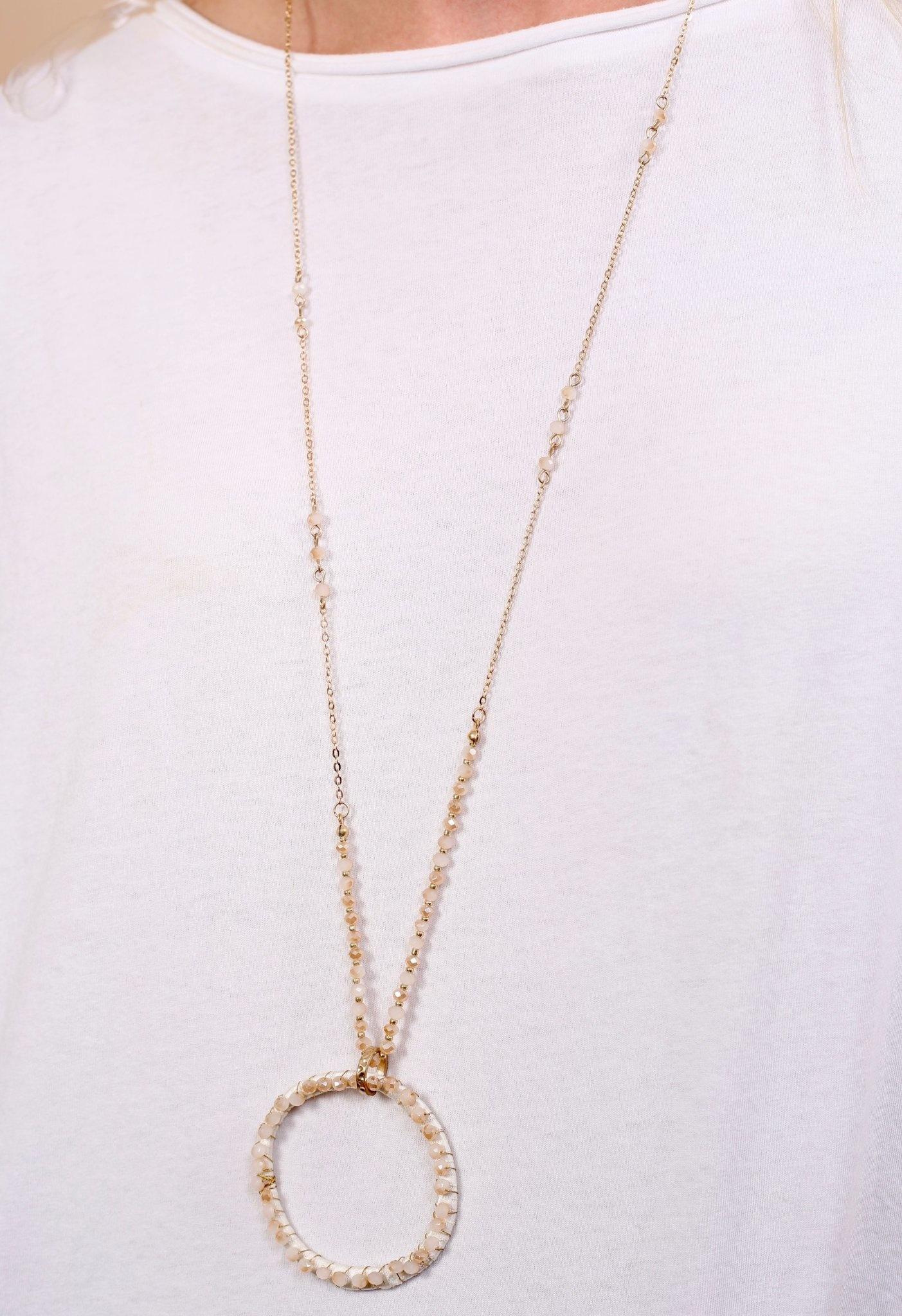 Caroline Hill Gravity delicate necklace