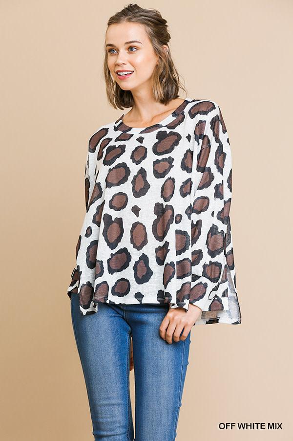 Umgee Animal print tunic