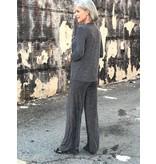 Last Tango Stripe lurex wide leg pant
