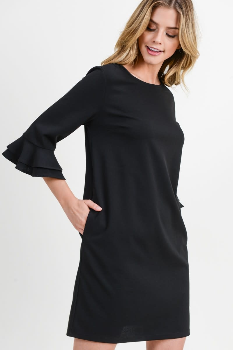 First Love Amunzen round neck dress