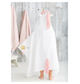 Mud Pie Unicorn hooded towel