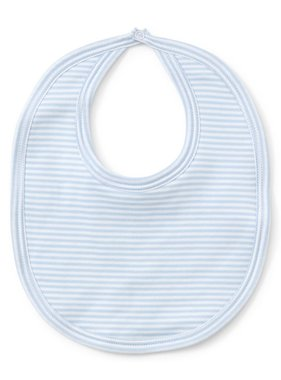 Kissy Kissy Lt Blue Stripes Bib